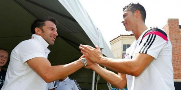 CR7 and Del Piero