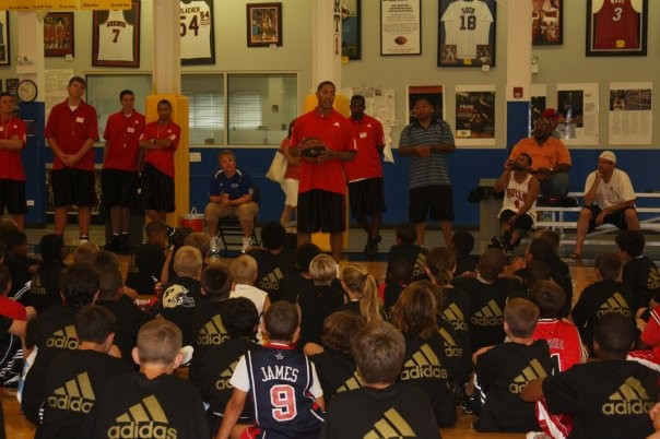 Derrick Rose at Annaul Basketball Camp