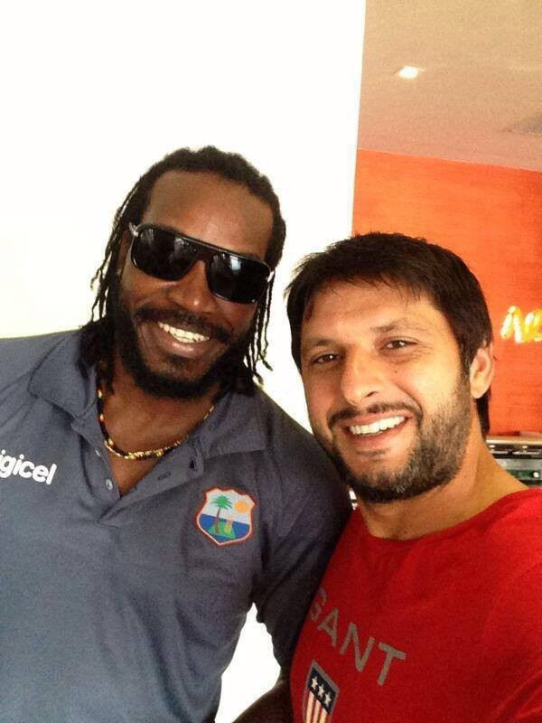 Two Destructive Cricketers in The World Gayle and Afridi