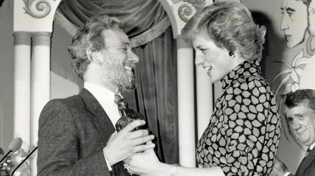 Stephen Sondheim and Princess Diana
