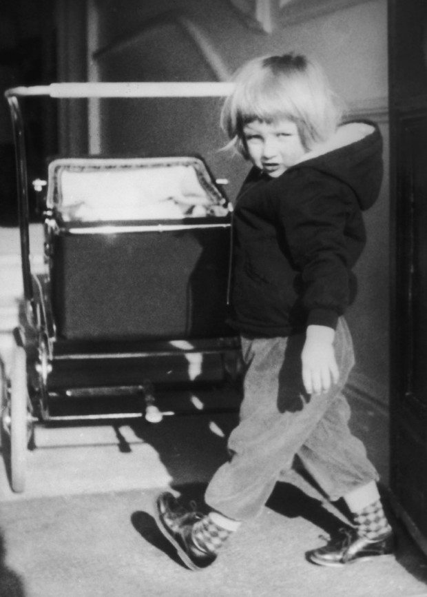 Princess Diana Childhood photo