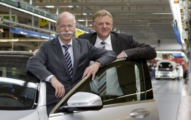 Dieter Zetsche and Andreas Renschler