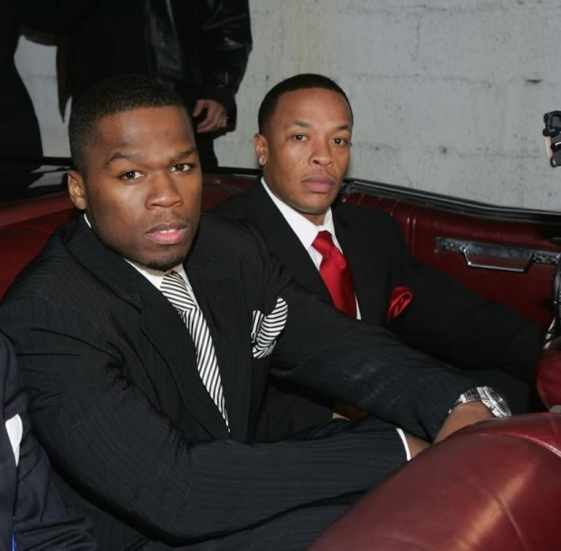 Dr. Dre with 50 Cent