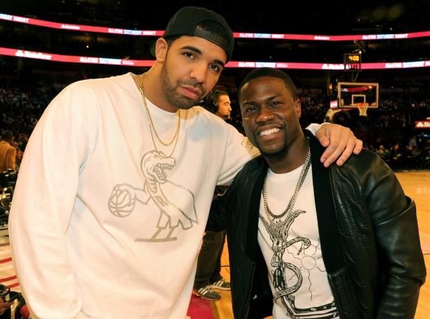 Drake And Kevin Hart