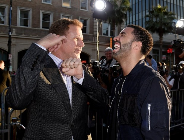 Will Ferrell and Drake at event of Get Hard