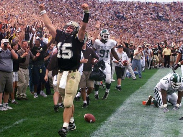 Drew Brees for Purdue