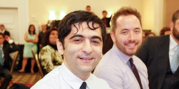 Dropbox co-founders Arash and Drew Houston