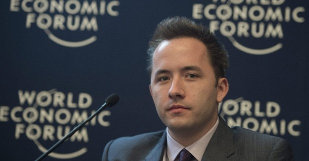 Andrew W. Houston at World Economic Forum
