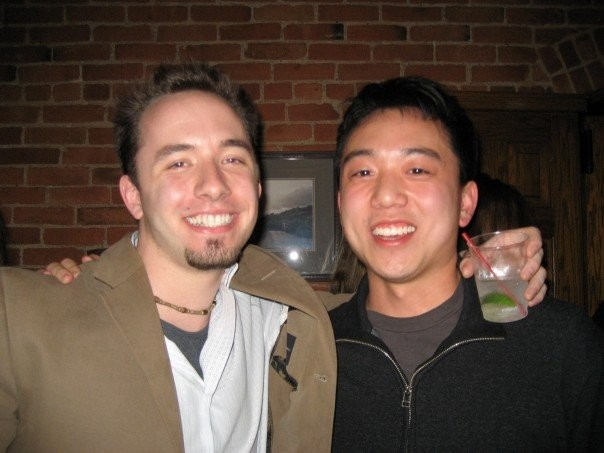 Drew Houston with Andrew Lim