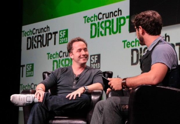 Drew Houston at TechCrunch Disrupt