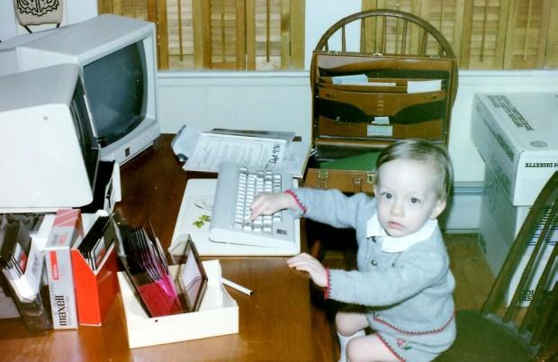 Drew Houston in his childhood