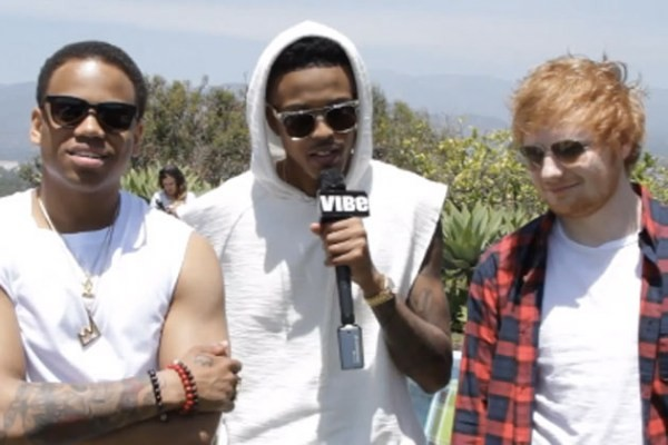 Ed Sheeran, Mack Wilds and August Alsina