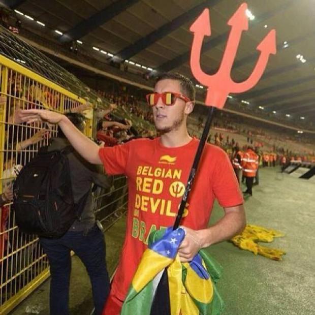 Belgian star Eden Hazard