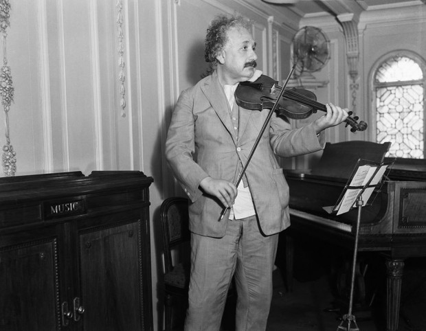 I get most joy in life out of my violin - Albert Einstein