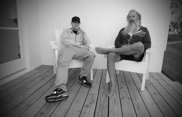Eminem and Rick Rubin