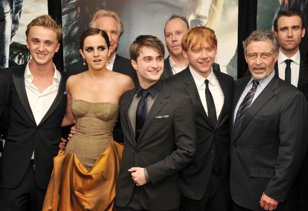 Emma Watson at Harry Potter And The Deathly Hallows: Part 2 New York Premiere