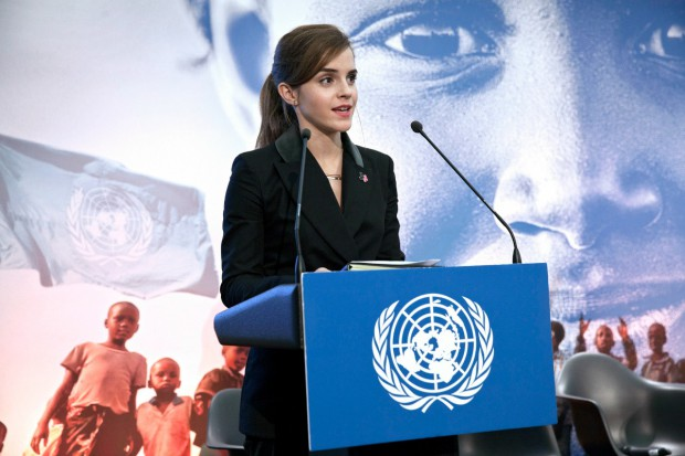 Emma Watson speaking at Uruguay Forum
