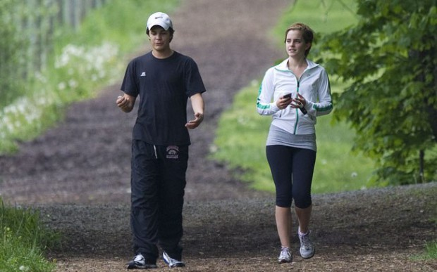 Emma Watson and Johnny Simmons