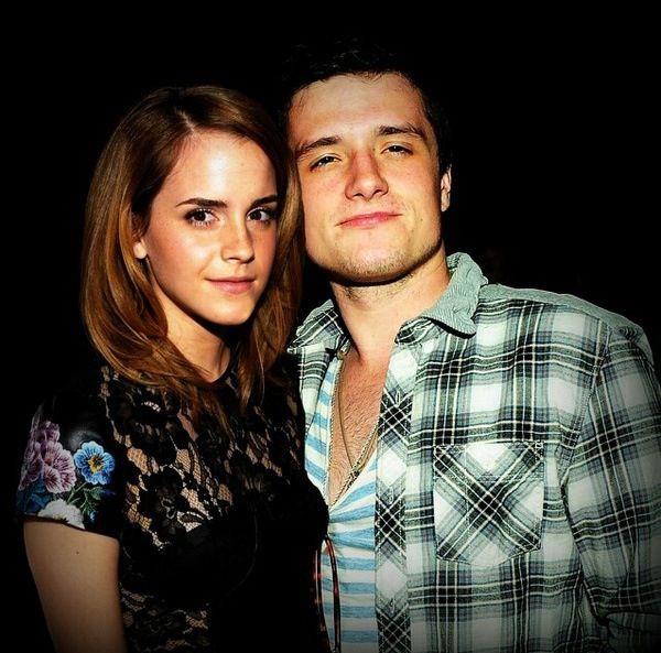 Emma Watson and Alex Watson