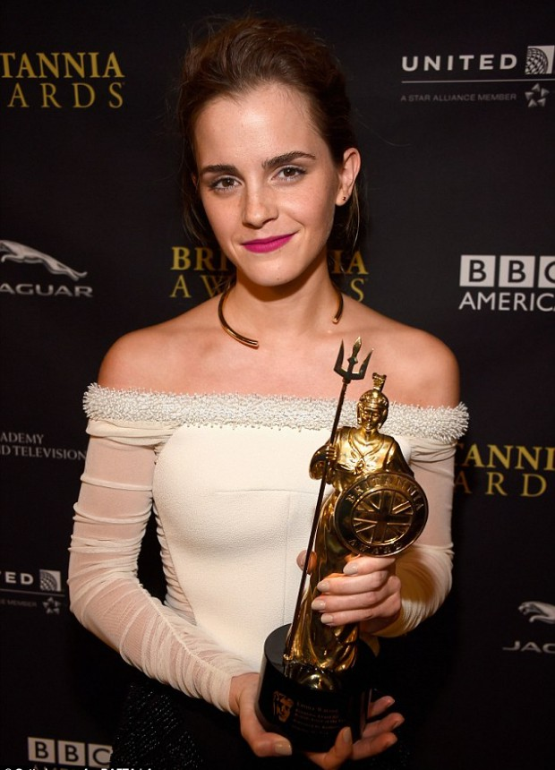 Emma Watson got Britannia Award for British Artist of the Year