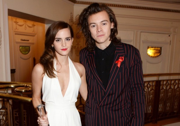 Emma Watson with Harry Styles