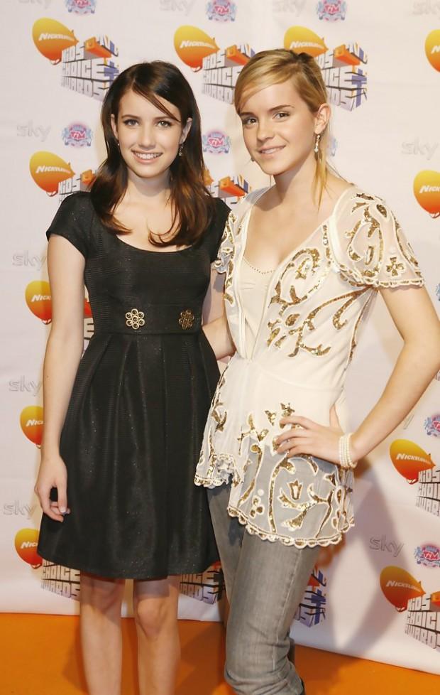 Emma Watson and Emma Roberts