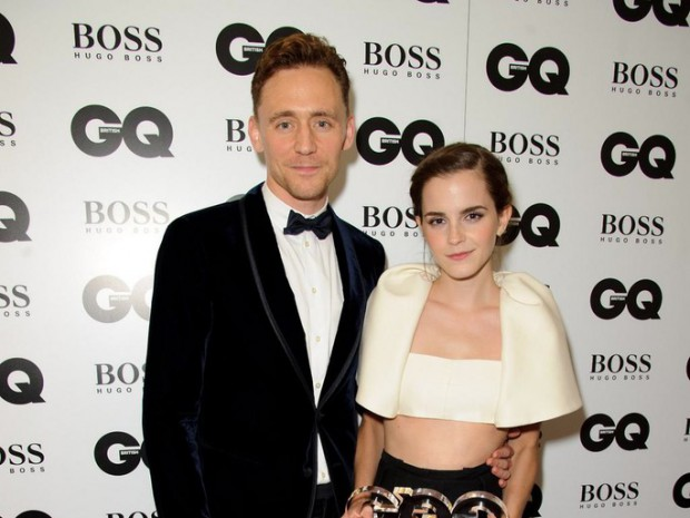 Emma Watson with Tom Hiddleston