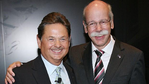 Ernst Lieb with Dieter
