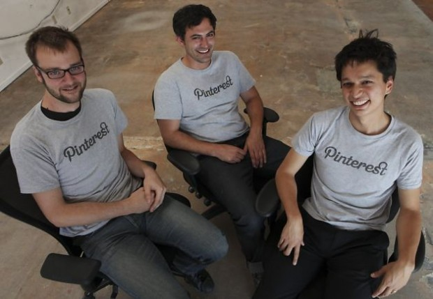 Pinterest Founders  Ben Silbermann, Evan Sharp and Paul Sciarra