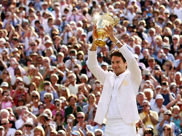 The King of Wimbledon