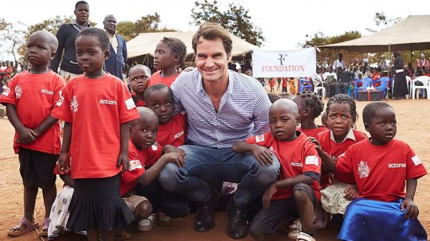 Federer Charity Work