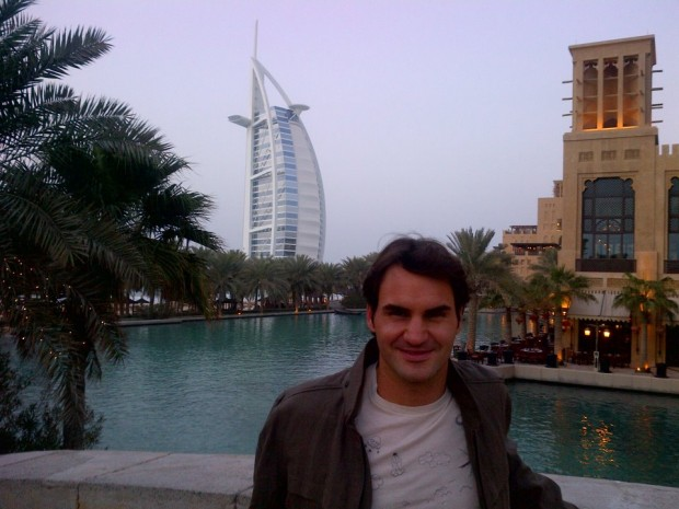 Federer in Dubai
