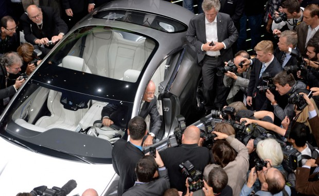 Dieter at Frankfurt Motor Show 2013