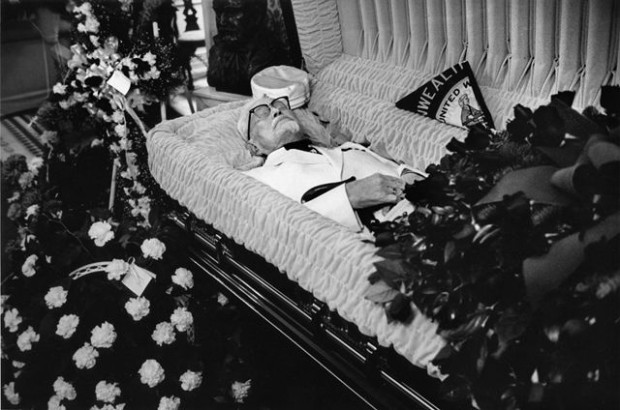 Colonel Sanders Death Photo