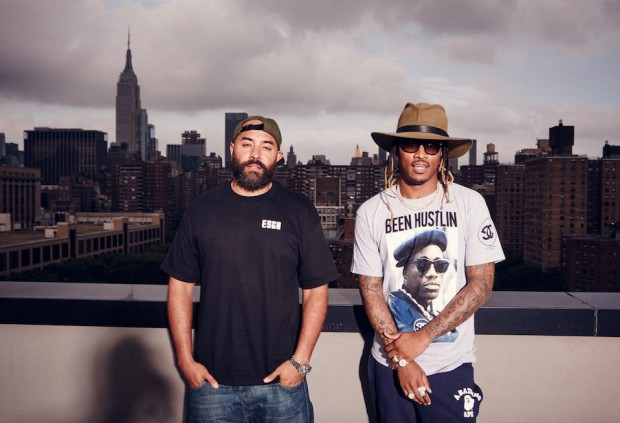 Ebro with Rapper Future