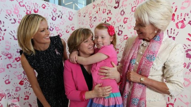 Gail Kelly With Sarah Murdoch and Eliza