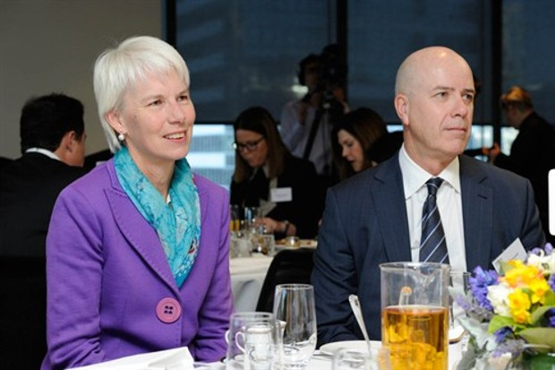 Gail Kelly at 100 Women of Influence Awards Program