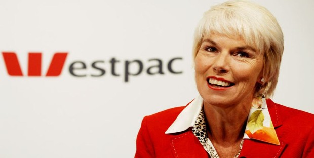 Gail Kelly as Westpac CEO
