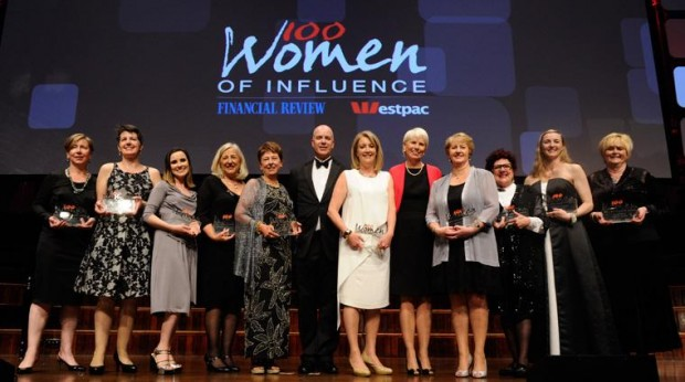 Gail Kelly at 100 Women of Influence Event