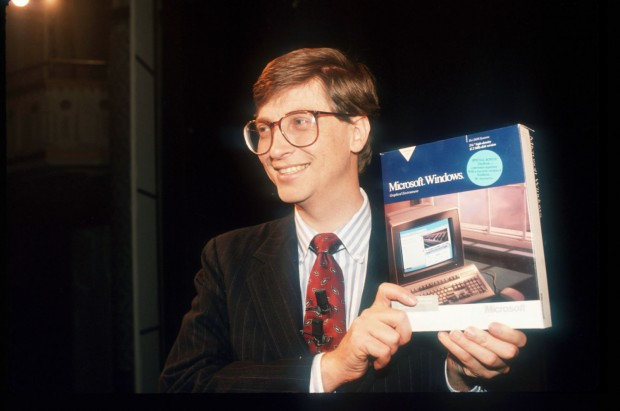 Gates Showing Windows OS Package