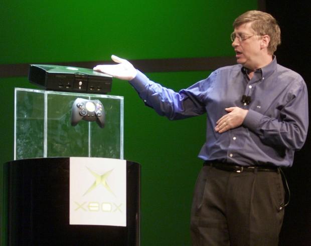 Bill Gates at Xbox device launching