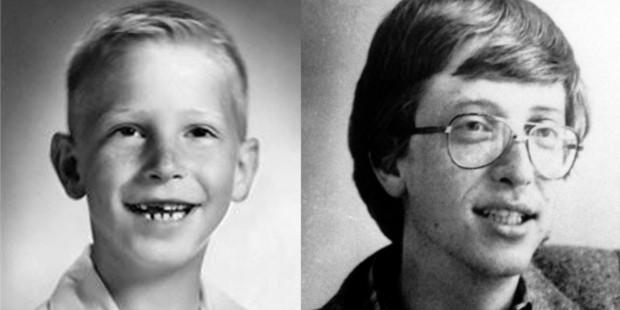 Bill Gates in Childhood