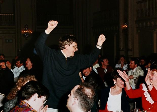 Dancing Bill Gates