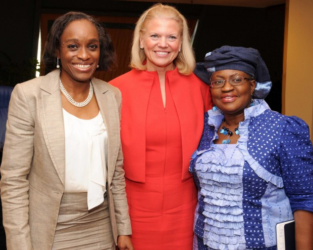 Ginny Rometty meets Officials in Nigeria
