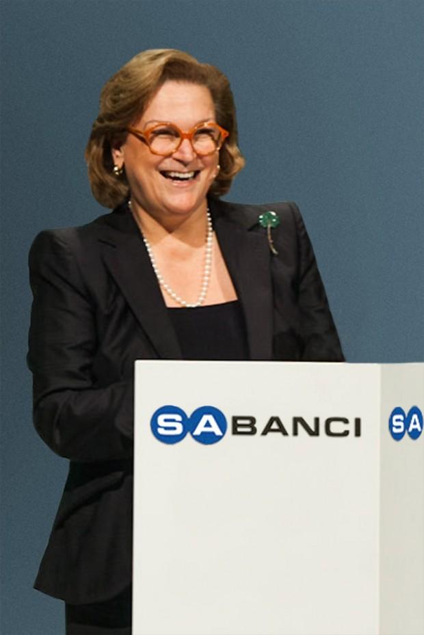 Sabanci Holding Chairman Guler Sabanci