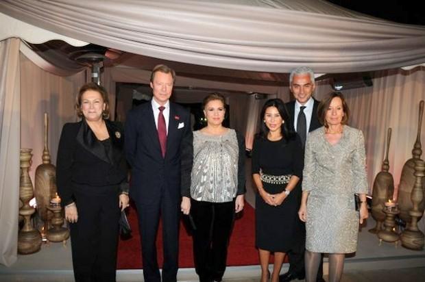 Güler Sabanci, Henri Albert Gabriel Felix Marie Guillaume - Maria Teresa Mestre, Suzan Sabanci - Haluk Dincer, Arlette Conzemius