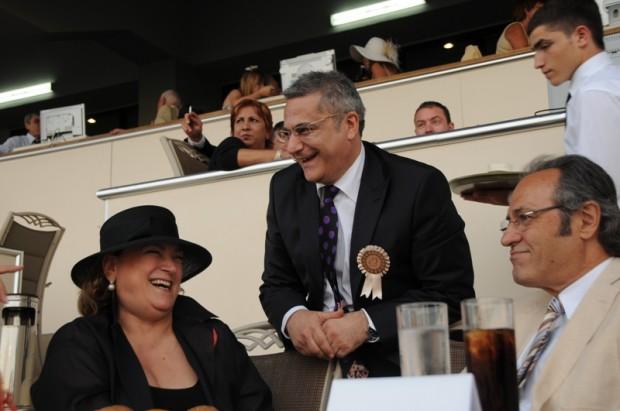 Guler Sabanci With Mehmet Ali Erbil and Asaf Sava Akat