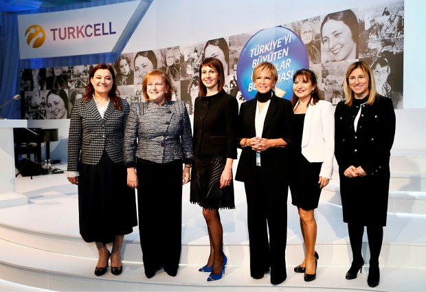 Guler Sabanci At TURKCELL