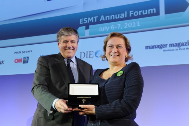 Güler Sabanci holding ESMT Responsible Leadership Award
