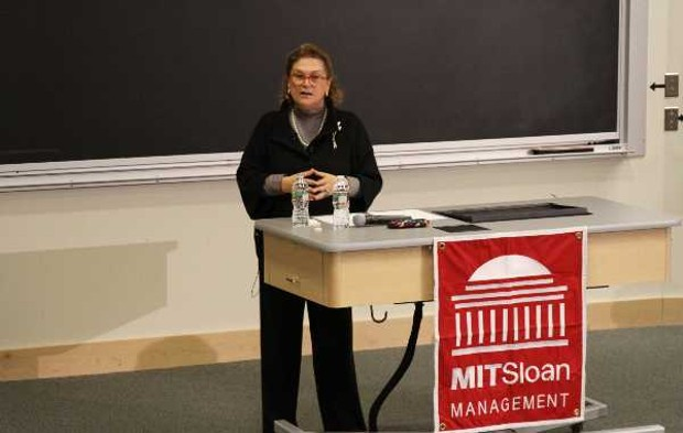 Güler Sabanci delivers keynote speech at Massachusettes Institute of Technology